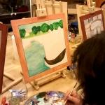 Corsi di disegno e pittura. Prodotto dell\'intervento