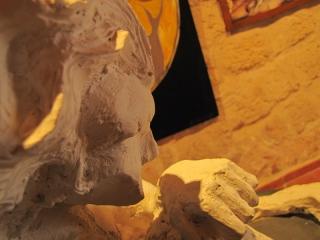 Particolare scultura