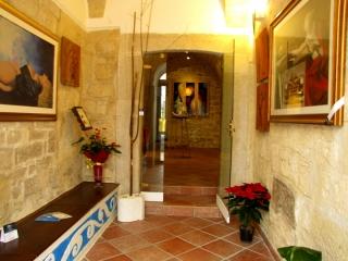 Area arte classica e ingresso